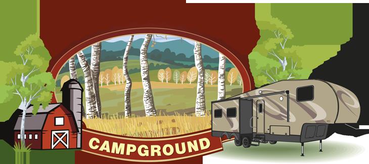 Birchview Campground - Logo Design