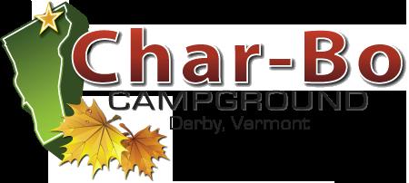 Char-Bo Campground Secondary Logo Design