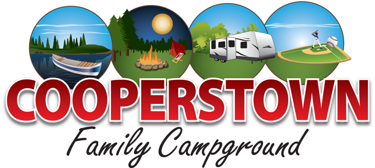 Cooperstown Family Campground - Logo Design