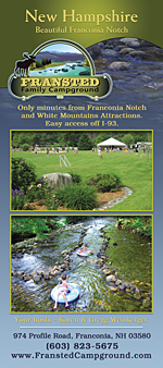 Fransted Campground Rack Card