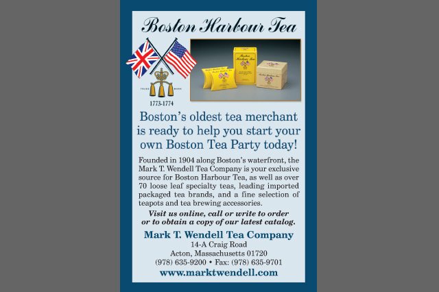 Boston Harbour Tea postcard by Pelland Advertising