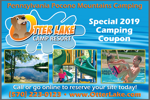 Otter Lake Camp-Resort Postcard by Pelland Advertising