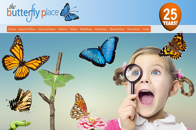 The Butterfly Place: Responsive E-Commerce Website by Pelland Advertising