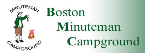 Boston Minuteman Campground – Old Logo Design