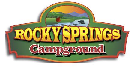 Rocky Springs Campground Logo Design