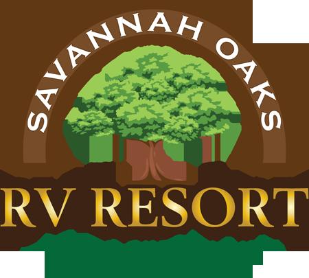Savannah Oaks RV Resort - After Logo Restoration