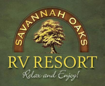 Savannah Oaks RV Resort - Before Logo Restoration