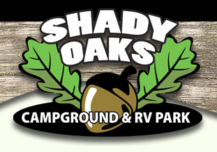 Shady Oaks Campground - Before Logo Restoration