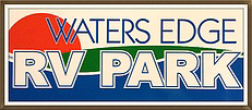 Waters Edge RV Park - Before Logo Restoration