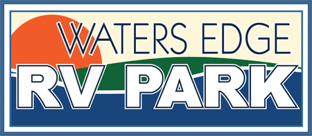 Waters Edge RV Park - After Logo Restoration