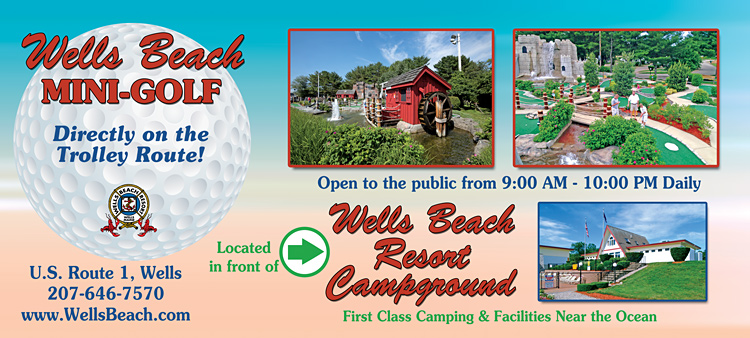 Wells Beach Mini Golf