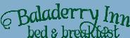 Baladerry Inn – Old Logo Design