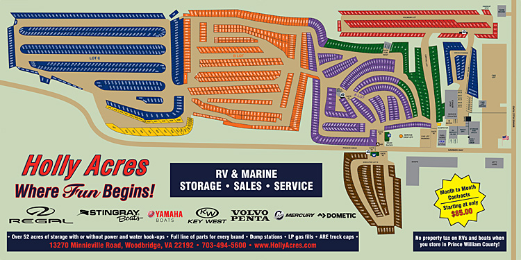Holly Acres Boat & RV Storage