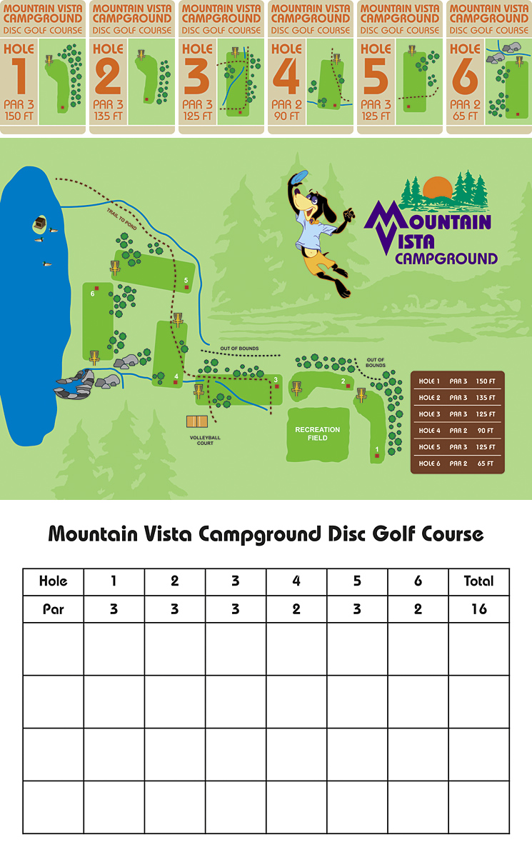 Mountain Vista Disc Golf Course