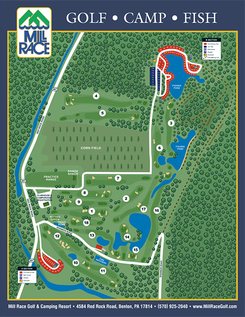 Campgrounds Usa Map.Pelland Advertising Campground And Resort Site Maps