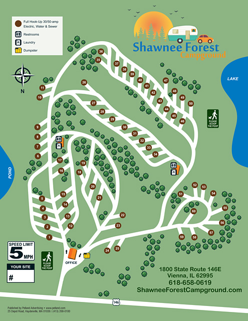 Pelland Advertising :: Campground and Resort Site Maps
