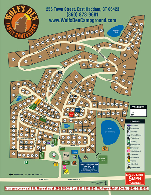 Pelland Advertising Campground And Resort Site Maps - Us-map-of-koa-campgrounds