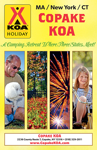 Copake KOA - 2017 Welcome Kit