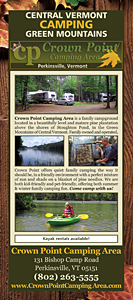Crown Point Camping Area Rack Card