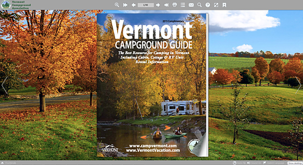 Vermont Campground Association 2015 Campground Guide