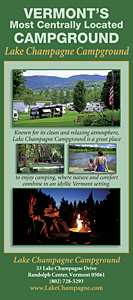 Lake Champagne Campground Rack Card
