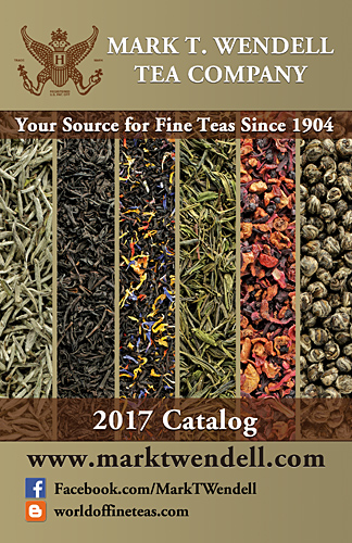Mark T. Wendell Tea Company - 2017 Mail Order Catalog