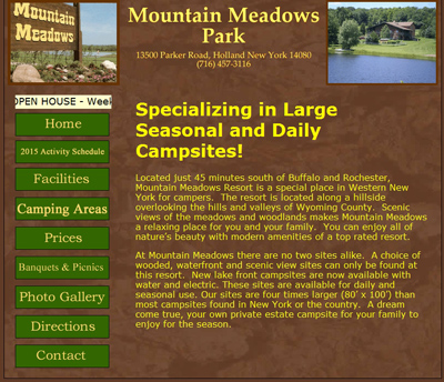 Mountain Meadows Park Campground - Old Site