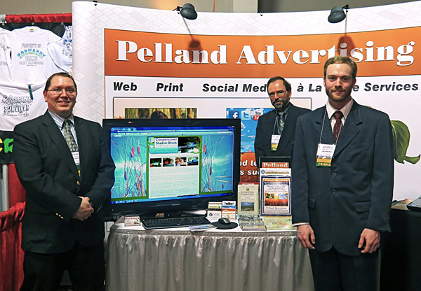 See Pelland Advertising at upcoming trade shows.
