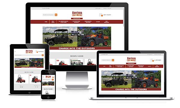 Harrison Cart Works - New E-Commerce Website