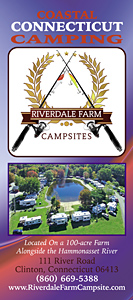 Riverdale Farm Campsites Brochure Front Panel