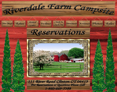 Riverdale Farm Campsites - Old Site
